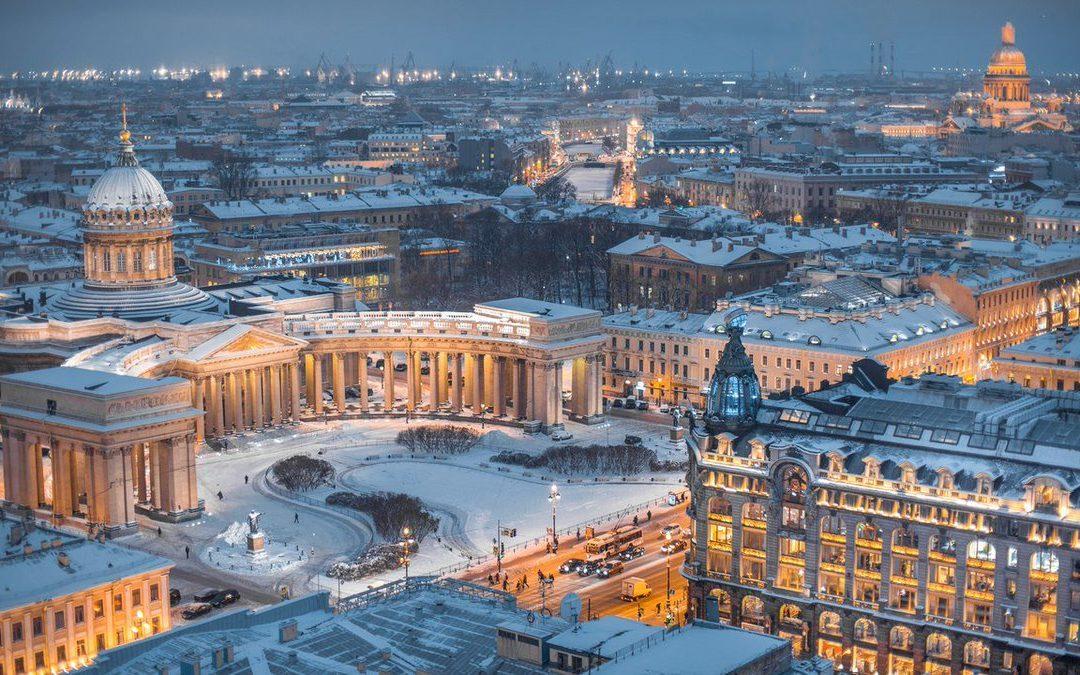 Styczniowy wyjazd na kurs językowy do Petersburga